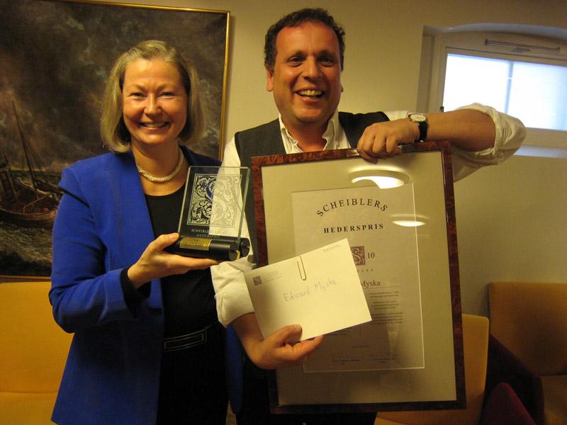 2010 Hederspris: Eduard Myska