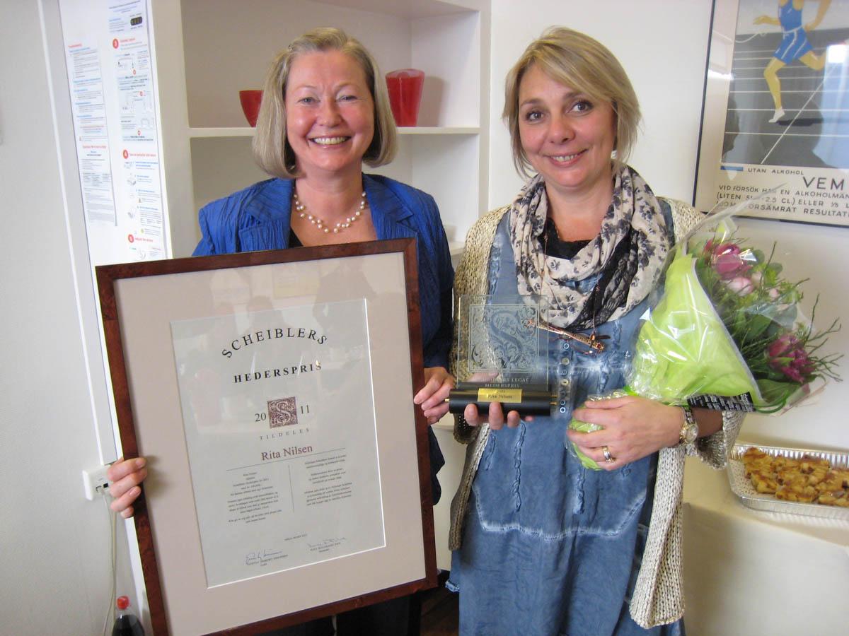 2011 Hederspris: Rita Nilsen