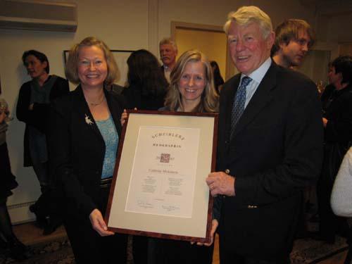 2007 Hederspris: Cathrine Moksness