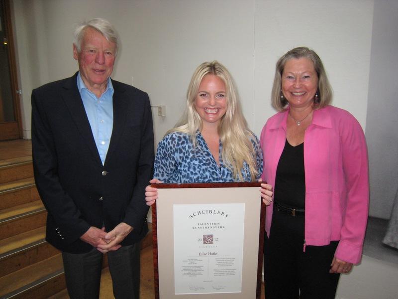 2012 Talentpris i kunsthåndverk: Elise Hatlø