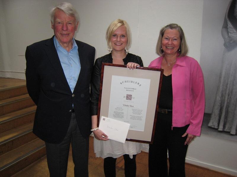 2012 Talentpris i design: Vibeke Skar
