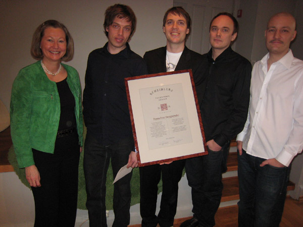 2008 Talentpris i design: Permafrost Designstudio