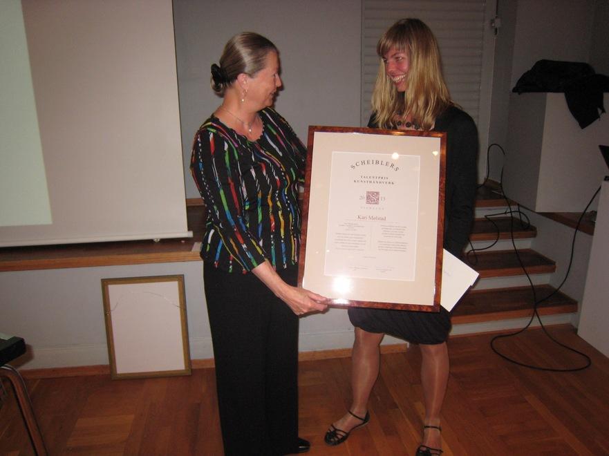 2013 Talentpris i kunsthåndverk: Kari Mølstad