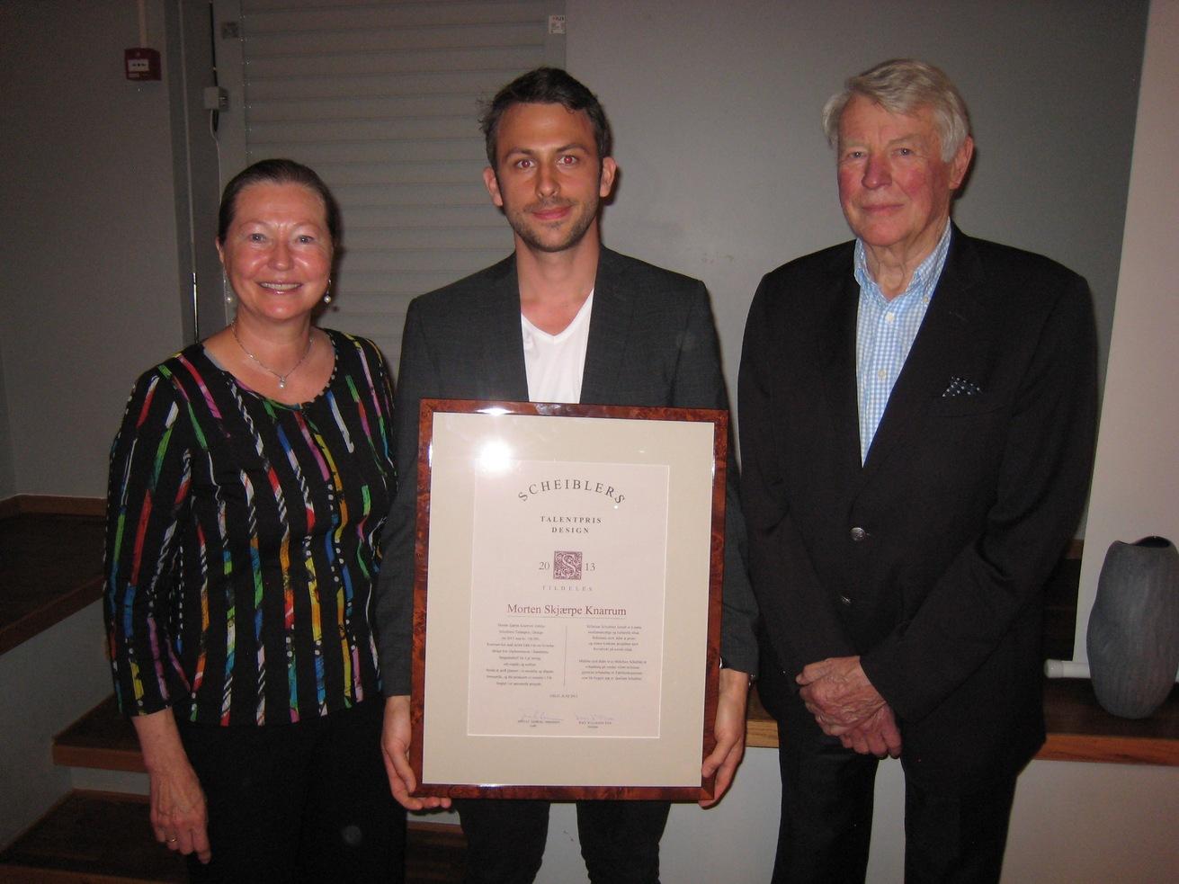 2013 Talentpris i design: Morten Skjærpe Knarrum