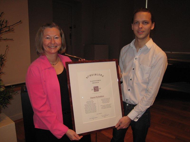 2009 Talentpris i design: Daniel Rybakken