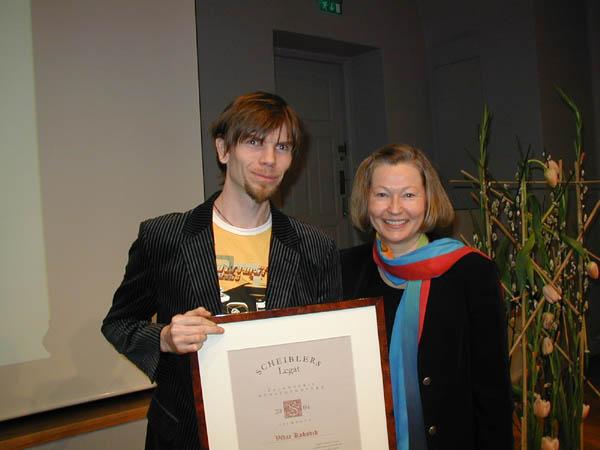 2004 Talentpris i kunsthåndverk: Vidar Koksvik