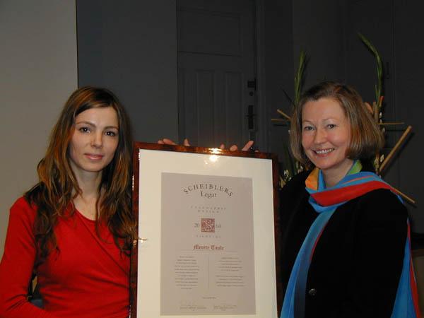 2004 Talentpris i design: Merete Taule