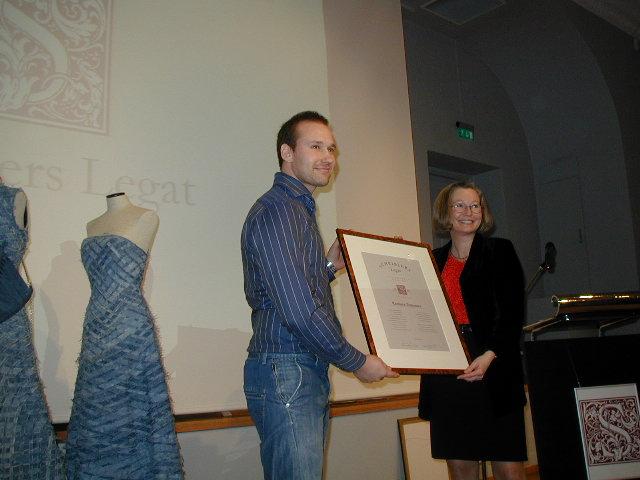 2003 Talentpris design: Torbjørn Anderssen