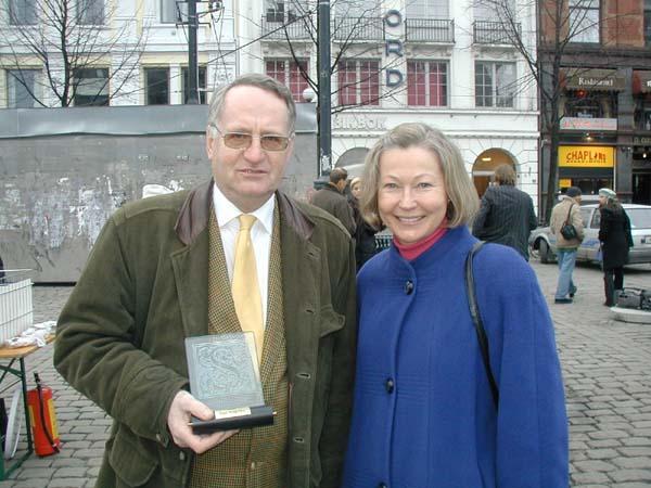 2004 Hederspris: Finn Borgersen