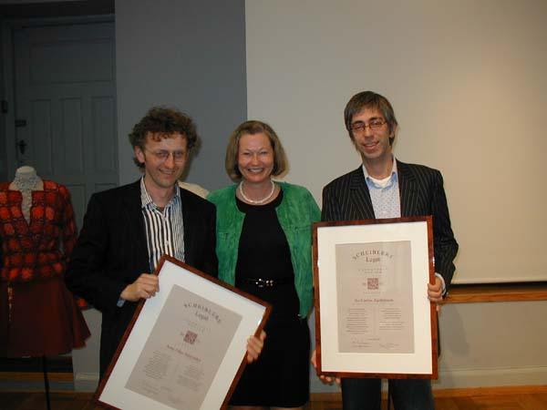 2005 Talentpris i design: Arne & Carlos