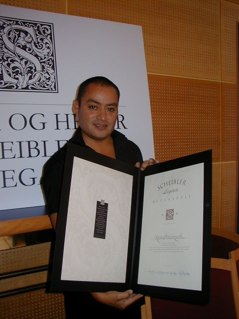 1999 Talentpris design: Ricardo Valenzuela
