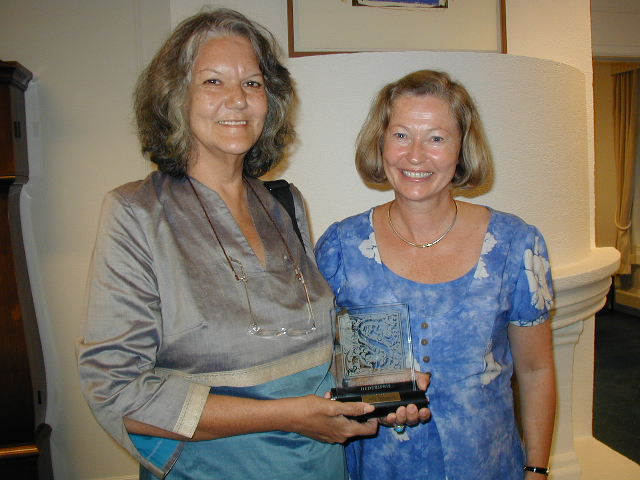 2003 Extraordinary prize of honour has been awarded Sally Hulugalle