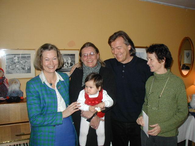 2001 Hederspris: Merete og Pi Mostue
