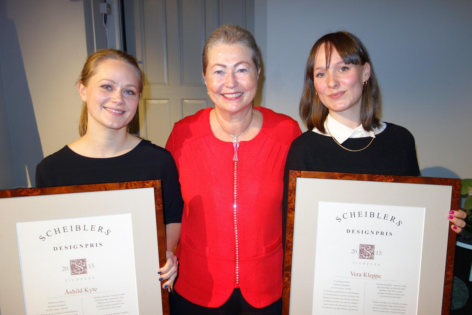 2015 Scheiblers Designpris