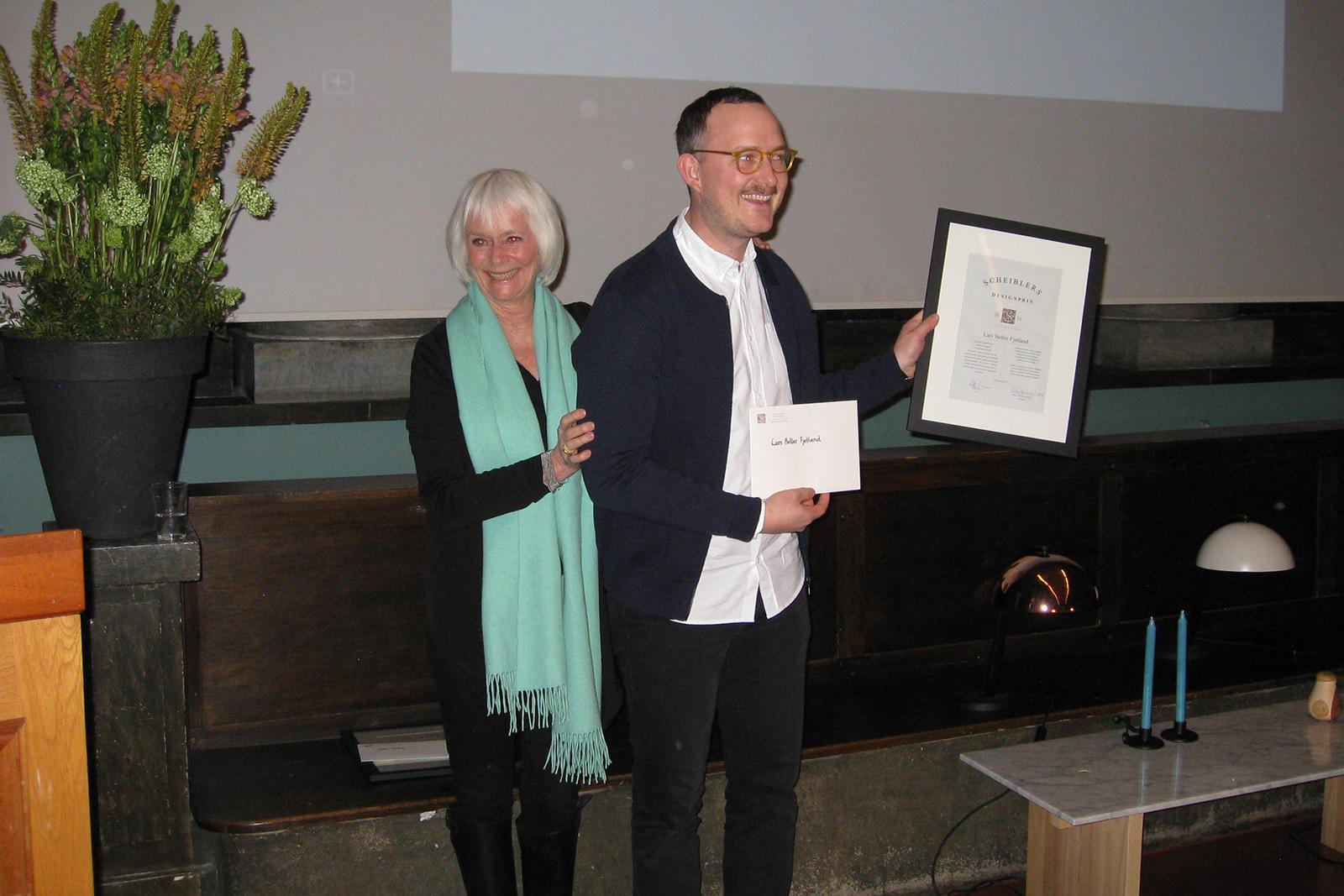 Scheiblers designpris 2016