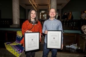Scheiblers priser for Design og Kunsthåndverk 2017